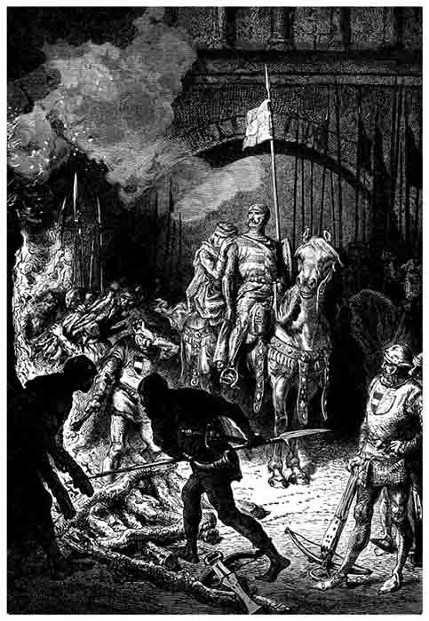 Tras su conquista de Valencia en 1094, El Cid ordenó la ejecución de Ibn Jahhaf y aliados almorávides. (Erica Guilane-Nachez / Adobe Stock)