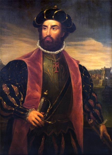 Vasco de Gama. (Dominio publico)