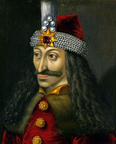 El retrato del castillo de Ambras de Vlad III. (Dominio público)