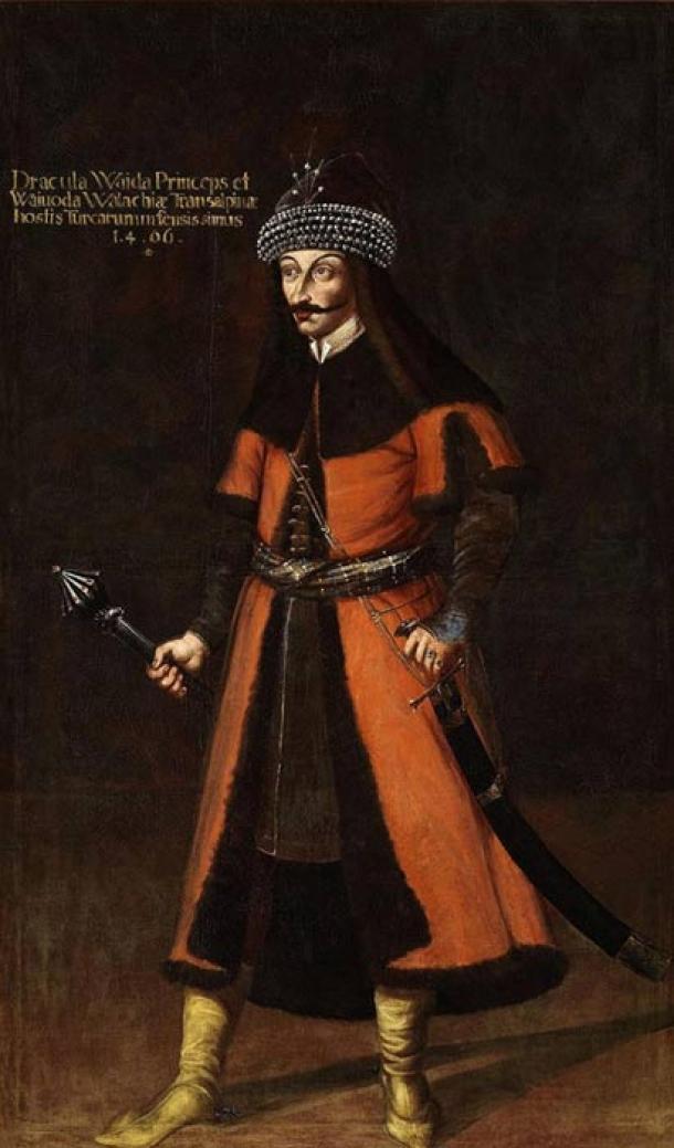 Pintura del siglo XVII de Vlad Tepes. (Dominio público)