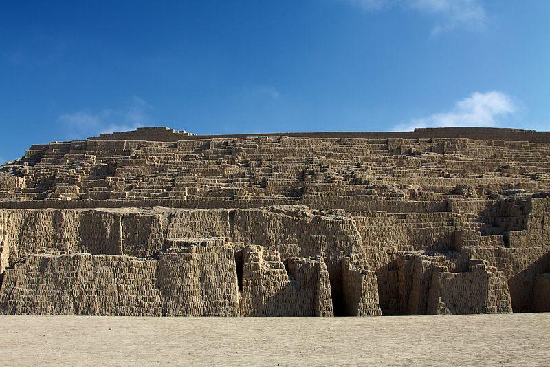 Yacimiento arqueológico de Huaca Pucllana, distrito de Miraflores, Lima, Perú (CC BY 2.0)